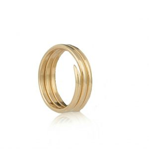 coil ring gold