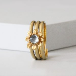 Flower Ring Gold