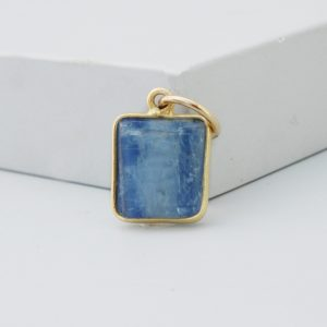 Raw Blue Kyanite Pendant