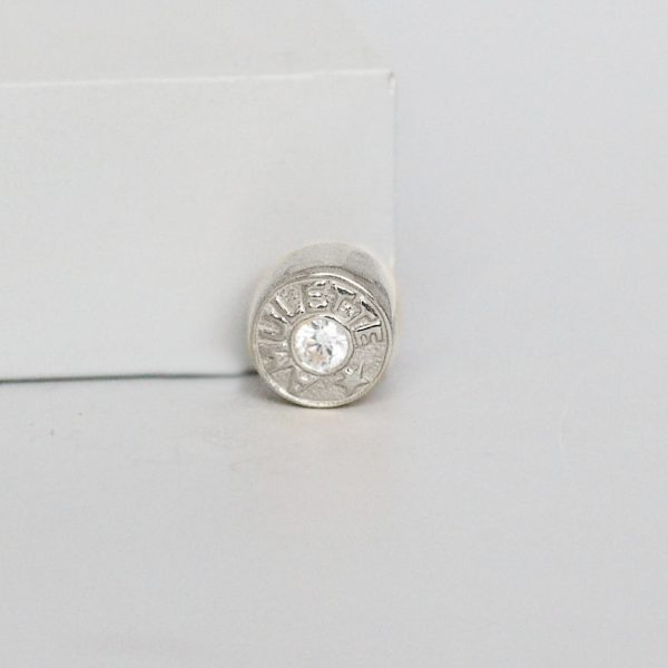 Silver Amulette Signature Ring Charm