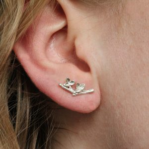 Silver Cartilage Earrings