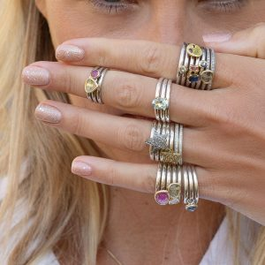 Stacking Silver Rings