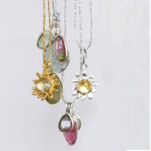 Healing gemstone necklace