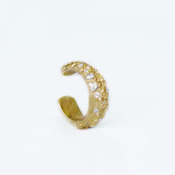 Gold Vine Ear Cuff