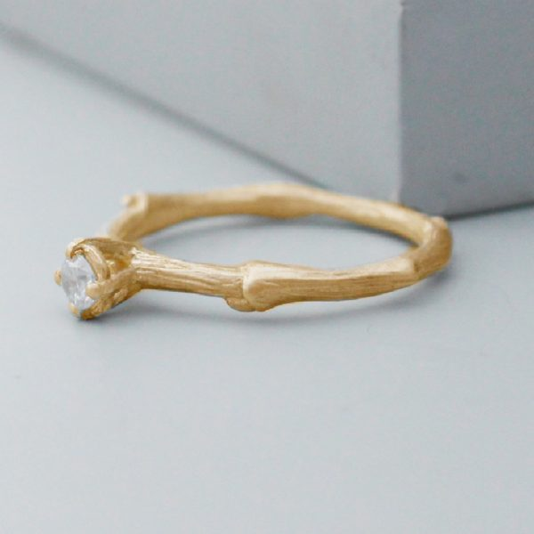 Branch And Twig Ring