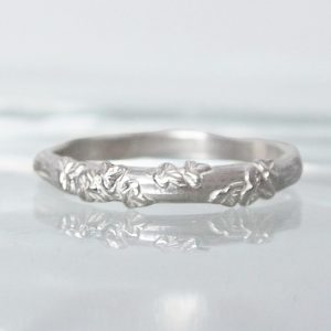 leaf and vine ring