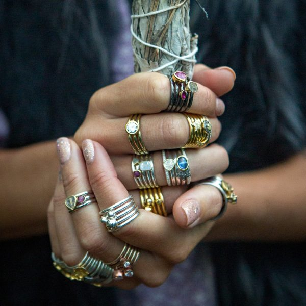 Rings With Charms