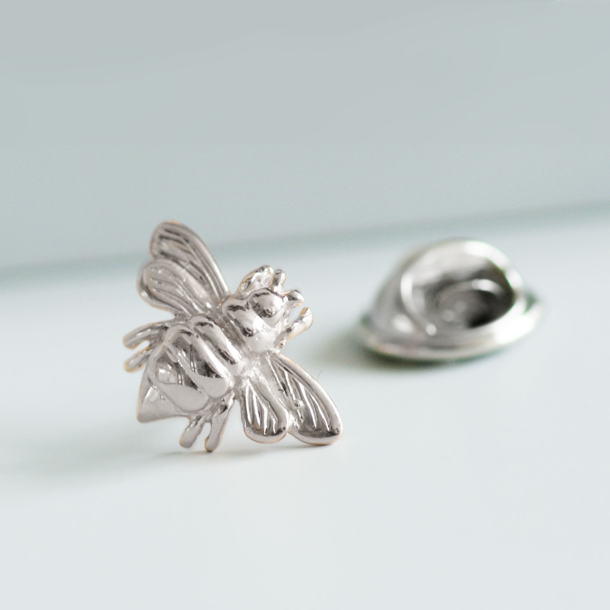 Sterling Silver Bee Brooch
