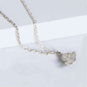 Silver Ivy Leaf Necklace