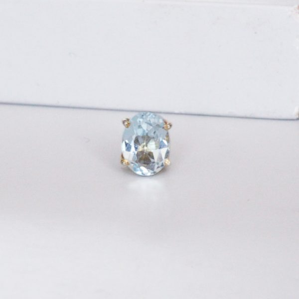 Aquamarine Ring Charm