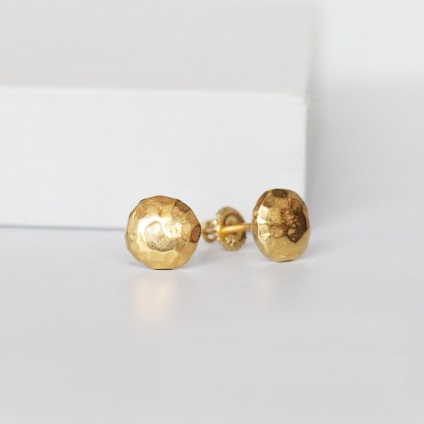 Gold Plated Ear Studs
