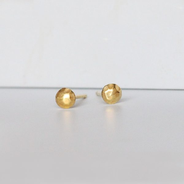 Gold plated small studs