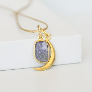 Midnight Moon Necklace