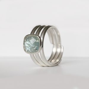 Aquamarine Rings Sterling Silver